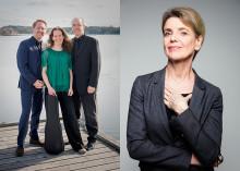 Kungsbacka Piano Trio & skådespelerskan Stina Ekblad till Tjolöholms Slott