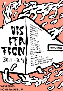 Utställningen Visitation 30 januari - 3 april 2016 i Västerås Konstmuseum