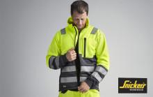 Snickers Workwear lanserer ny vår-/sommerkolleksjon synlighetsklær
