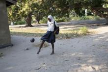 En fotboll från ActionAid räcker längre än fotbolls-VM