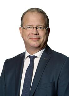 Volvos VD, Martin Lundstedt inviger konferensen på Logistik & Transport
