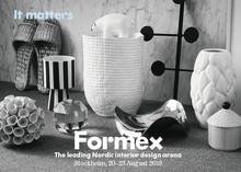 Många spännande nyheter på Formex