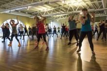 Dance Sunday på IKSU sport 21 februari