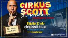 PREMIÄR: Cirkus Scott för första gången i en arena