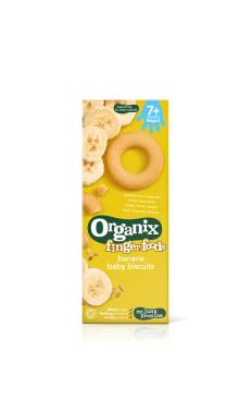 Semper återkallar Organix banankex med fel etikett