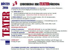 Lindesbergs Riksteaterförening på Lindessjön Runt Dagen