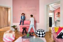 Färgstark lägenhet till försäljning