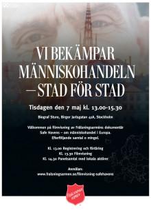 Inbjudan Safe Havens Stockholm