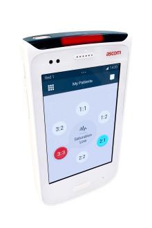 Finskt sjukhus blir först i världen med att använda Ascom Myco smartphones