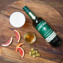 Jameson whiskey modnet på IPA-fat: To lidenskaper møter hverandre
