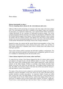 Press Release imm Cologne / LivingInteriors 2016