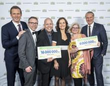Rekord för Erikshjälpen – 22 miljoner från PostkodLotteriet