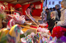 Skånska julmarknader i slott och koja 2009