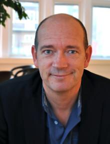 Nils Djurklou, ny kommunikations- och marknadsansvarig för avdelningen näringslivs- och destinationsutveckling