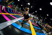 Bounce Trampoline Parks öppnar i Nya Hovås