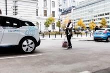 Ny parkering för elbilar vid Stockholms Centralstation