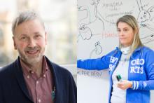 Hans-Erik Eldemark och Eva Strandell prisade för samverkan och innovation samt pedagogik