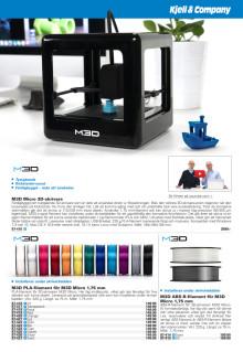 Produktsida om M3D Micro
