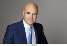 Pressinbjudan till VIP-möte med Fredrik Reinfeldt