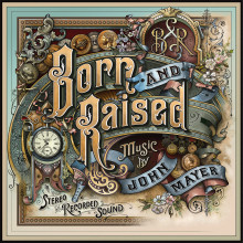 "John Mayer är tillbaka med nya albumet ""Born and Raised"""