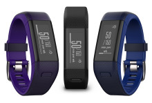 Garmin vívosmart® HR+, smart aktivitetsmåler med pulsmåling på håndleddet og GPS