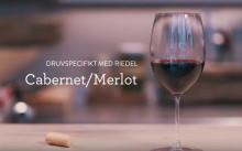 Druvspecifikt med Riedel - Cabernet/Merlot