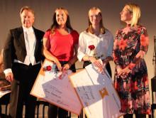 Bra elever på Lindeskolan hyllades med stipendier