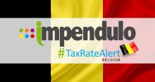 Tax Alert - Belgium - INAMI Rate Applicable to Accidents at Work Policies Decreased