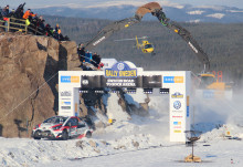 Swecon och Volvo Construction Equipment på Rally Sweden 2019