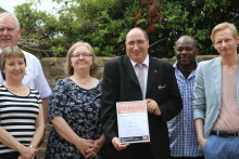Mitie security officer named 'Most Inspirational Individual on Equality'