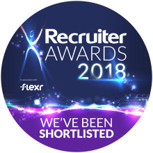 Finegreen at the Recruiter Awards 2018 this evening!