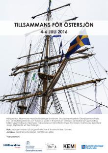 Program Almedalen 2016, Hållbara Hav och Briggen Tre Kronor