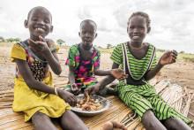 Extra matinsatser räddar liv i Sydsudan