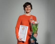 """Elin Jyborn (Ängelholm) får hedersomnämnandet """"Årets Förskole/ Fritidsfavorit"""" för sina insatser inom skola"""
