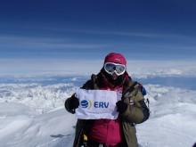 Annelie Pompe har besegrat Mount Denali