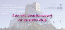 Newsletter KW 7: Erster VKD-Gesprächsabend war ein großer Erfolg | EAHM2019 - jetzt anmelden!