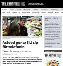 Axfood väljer Weblink