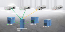 OPC UA mahdollistaa älykkään pneumatiikan: Valmiina esineiden internetiin.