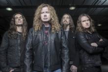 Thrashmetallens pionjärer Megadeth till Grönan