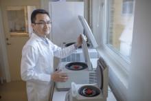 Yaowen Wu is awarded the Göran Gustafsson Prize in molecular biology