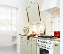 Køkken med autentisk retro-look