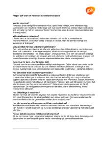 Q&A Rotavirus