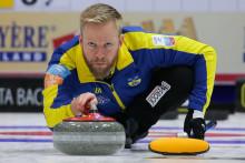 Ny stabil seger för de svenska curlingherrarna