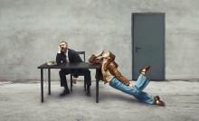 Ministeriet för olösta känslor löser problem med dans