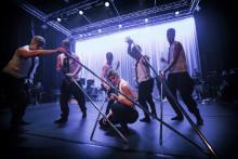 Bohuslän Big Band och Regionteater Väst i frostig föreställning