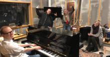 Lyd- og musikkstudentene samarbeider med Den Norske Filmskolen