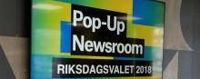 """""""Pop-up Newsroom riksdagsvalet"""" granskar informations- och desinformationsflöden i sociala medier inför valet"""