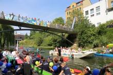 Wir machen 'ne Welle: 19. Leipziger Wasserfest vom 16. bis 18. August 2019