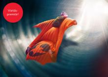 Världspremiär för Indoor Wingsuit Flying