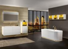 Hivernage dans une salle de bains bien-être : Villeroy & Boch propose des collections de baignoires attrayantes